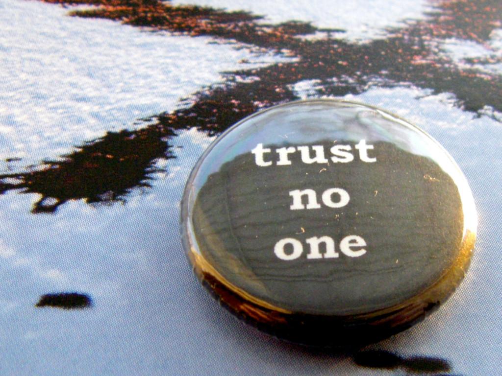 External input Trust nobody