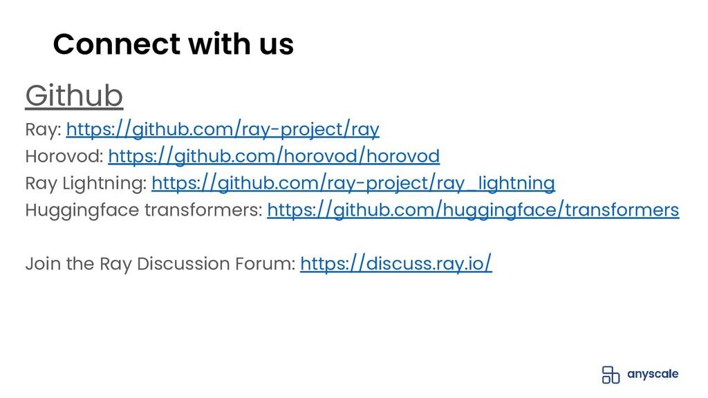 Github Ray: https://github.com/ray-project/ray ...