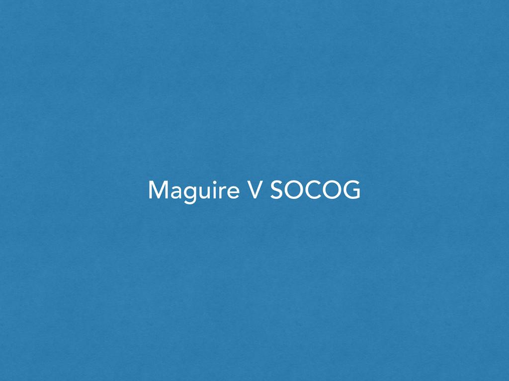 Maguire V SOCOG