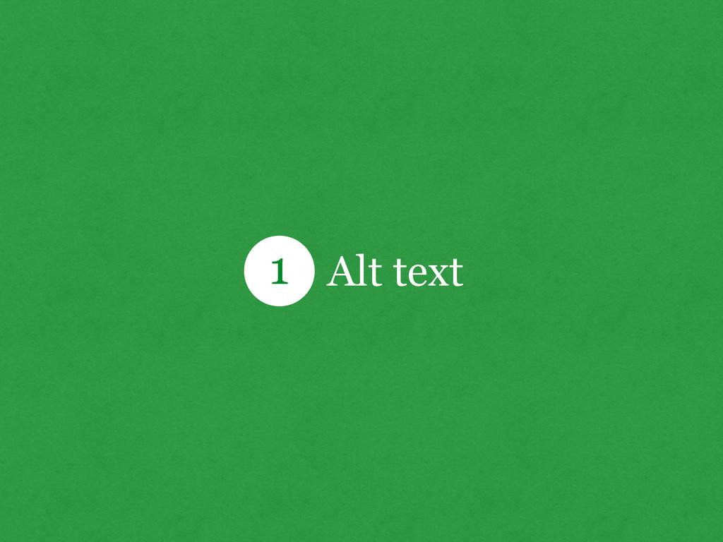 Alt text 1