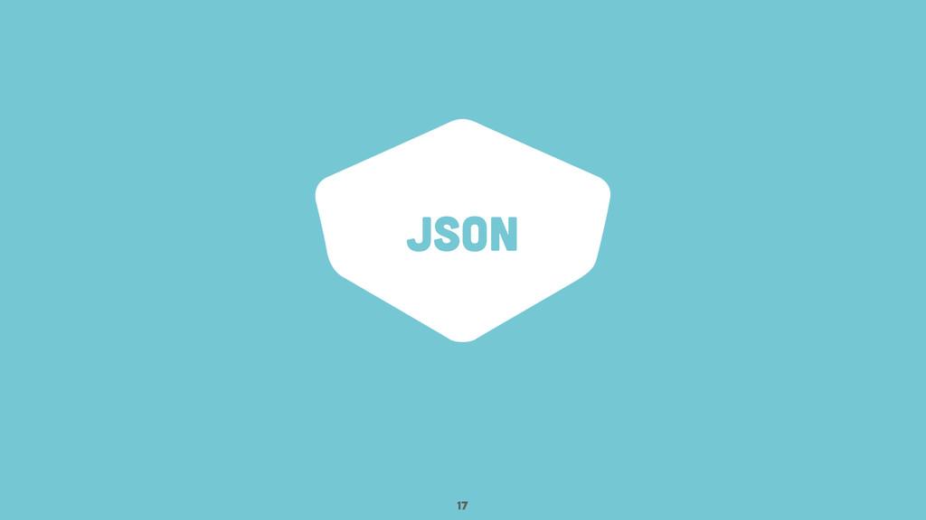 JSON 17