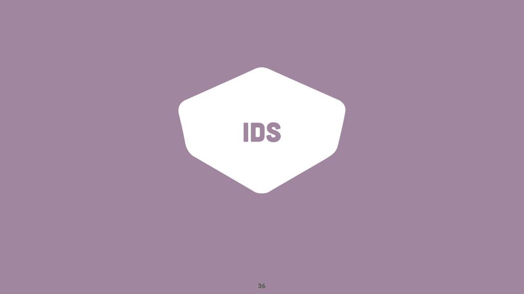 IDs 36