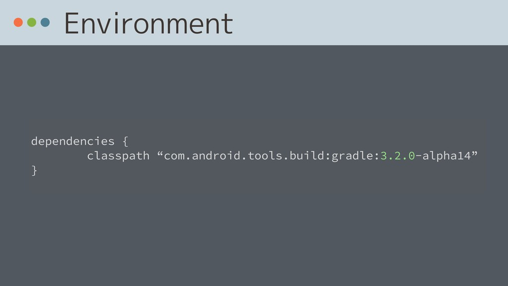 Environment 