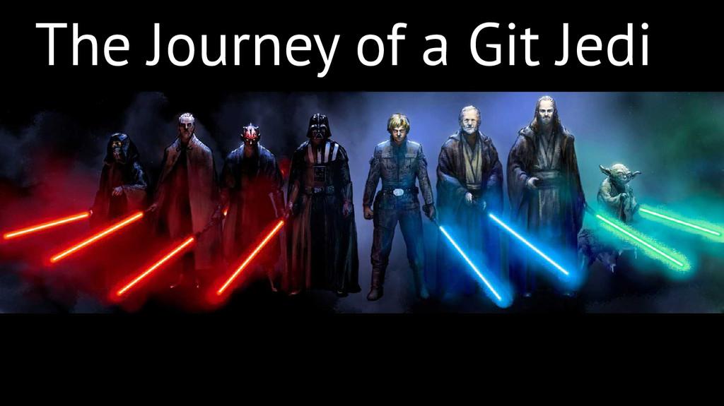 The Journey of a Git Jedi