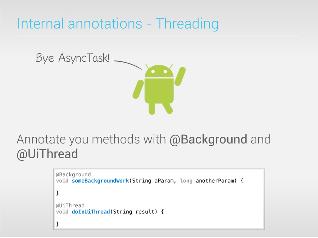 Internal annotations - Threading Annotate you m...