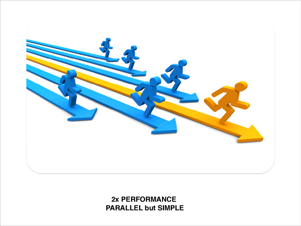 2x PERFORMANCE! PARALLEL but SIMPLE