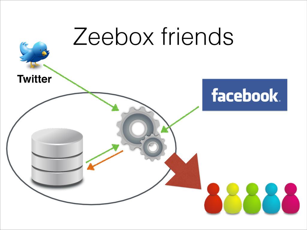 Zeebox friends Twitter