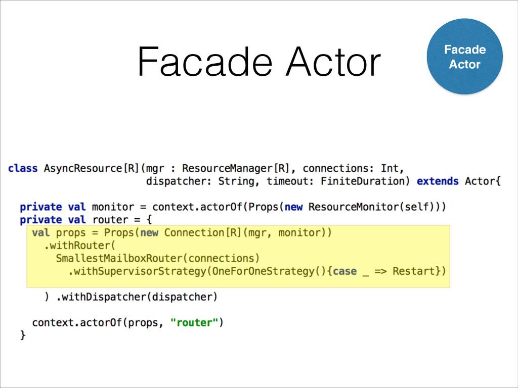 Facade Actor Facade! Actor