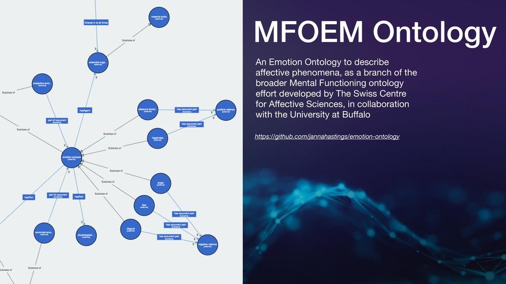 MFOEM Ontology An Emotion Ontology to describe ...