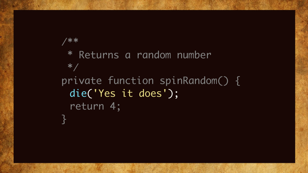 /** * Returns a random number */ private functi...