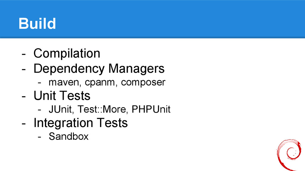 Build - Compilation - Dependency Managers - mav...