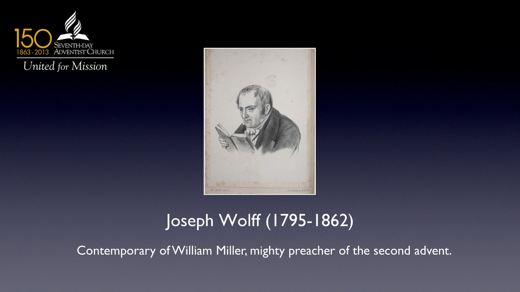 Joseph Wolff (1795-1862)	 