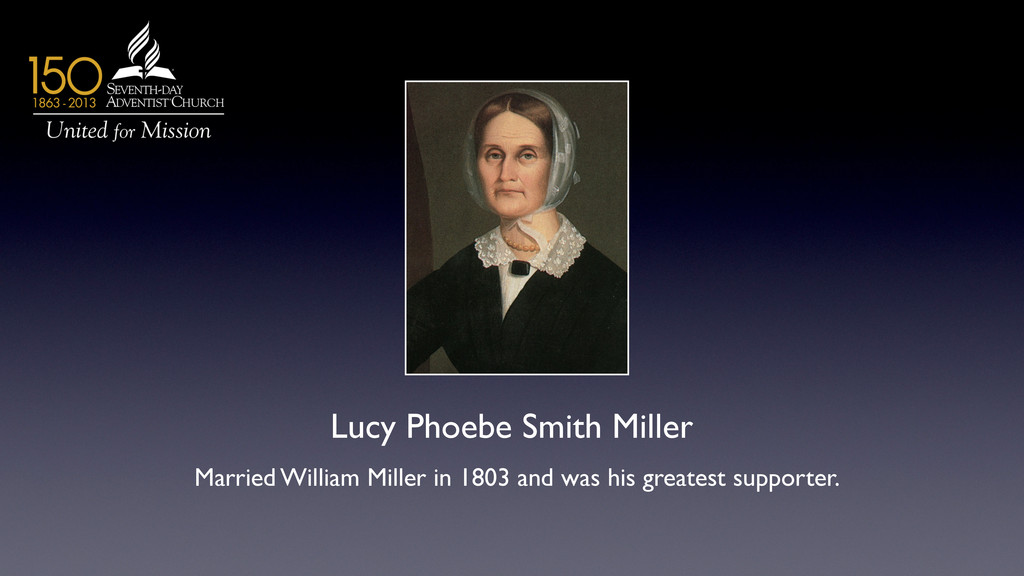 Lucy Phoebe Smith Miller	 