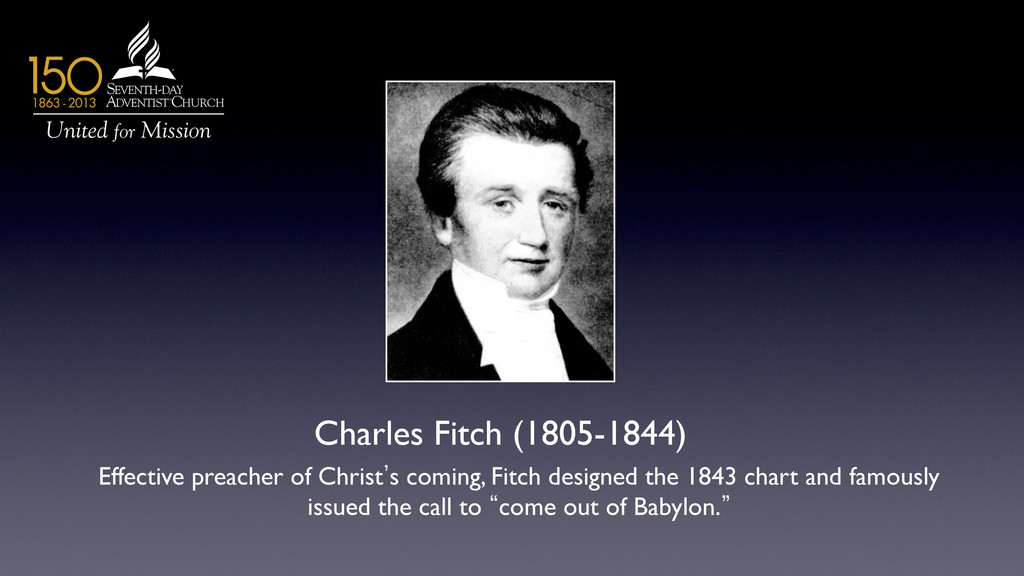 Charles Fitch (1805-1844)	 