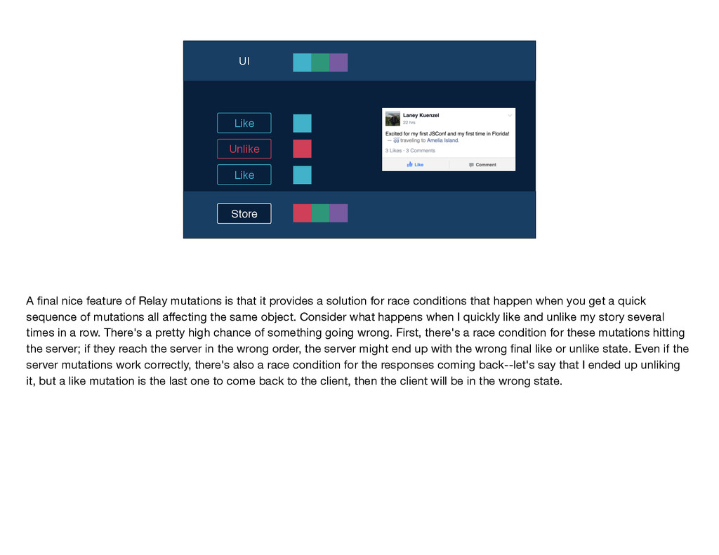 Store UI Like Unlike Like A final nice feature o...