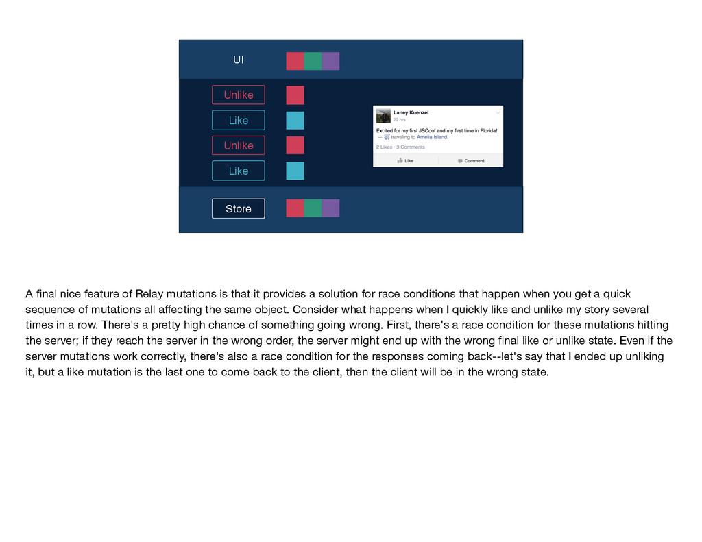 Store UI Like Unlike Like Unlike A final nice fe...