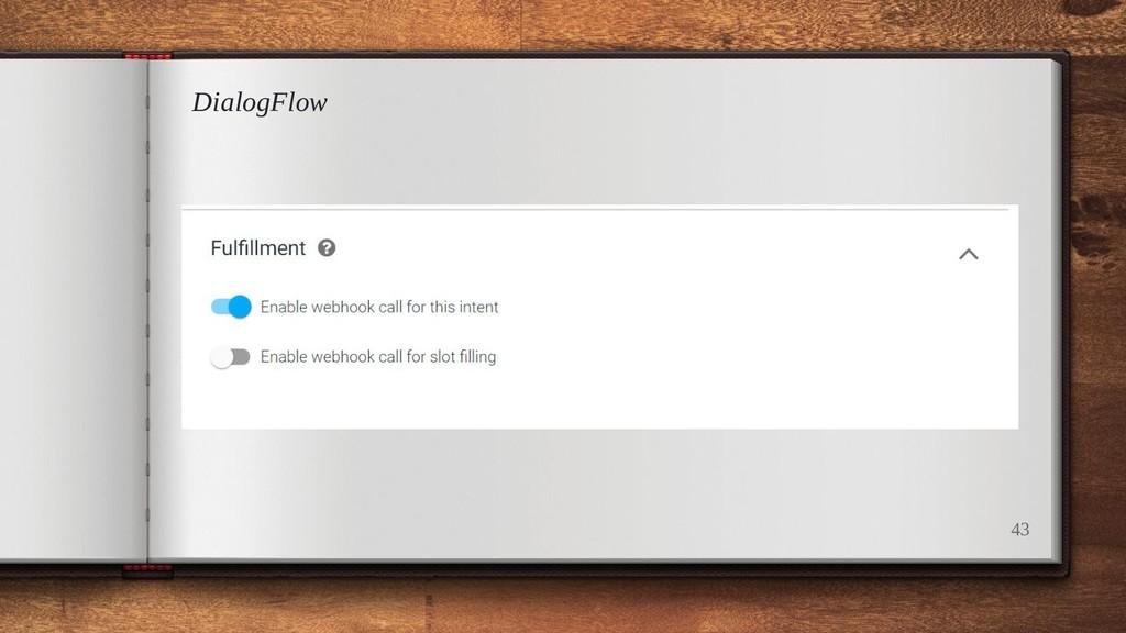 DialogFlow 43