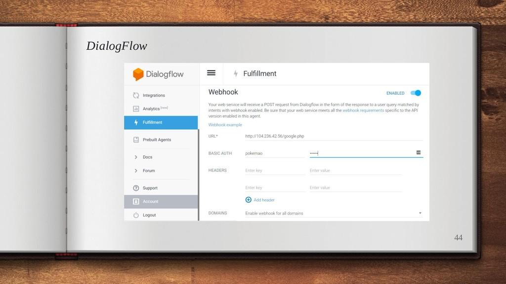 DialogFlow 44