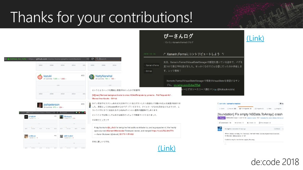 Thanks for your contributions! (Link) (Link)