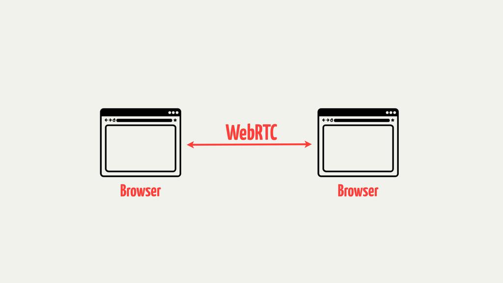 WebRTC Browser Browser