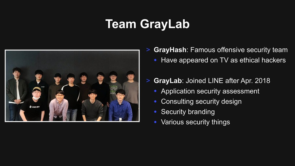 Team GrayLab > GrayHash: Famous offensive secur...