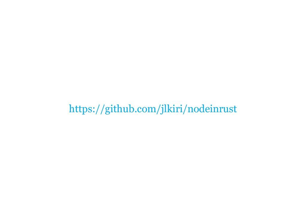 https://github.com/jlkiri/nodeinrust