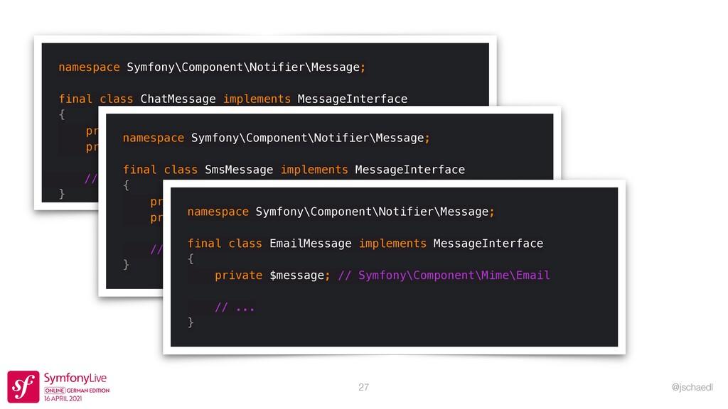 @jschaedl namespace Symfony\Component\Notifier\...