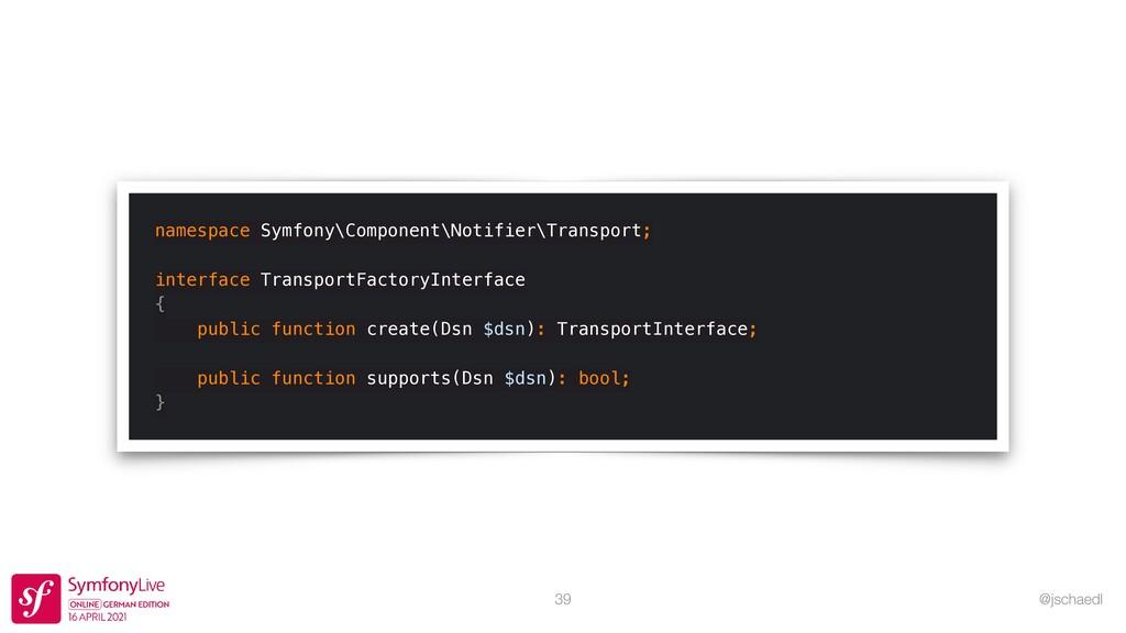 @jschaedl 39 namespace Symfony\Component\Notifi...