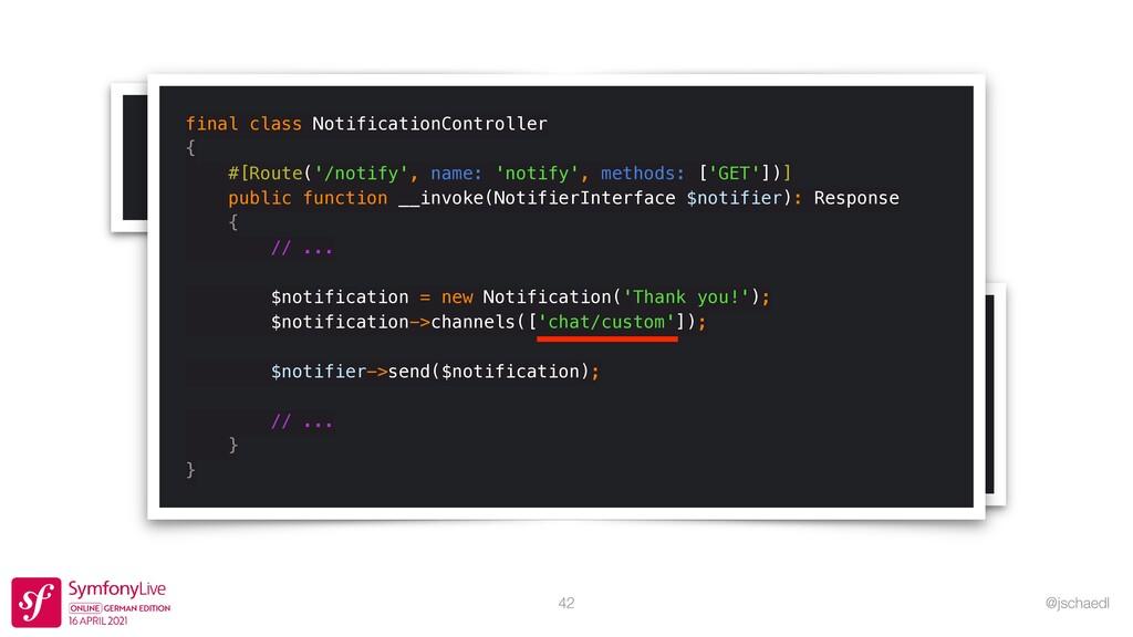 @jschaedl # .env   CUSTOM_DSN=custom://default?...