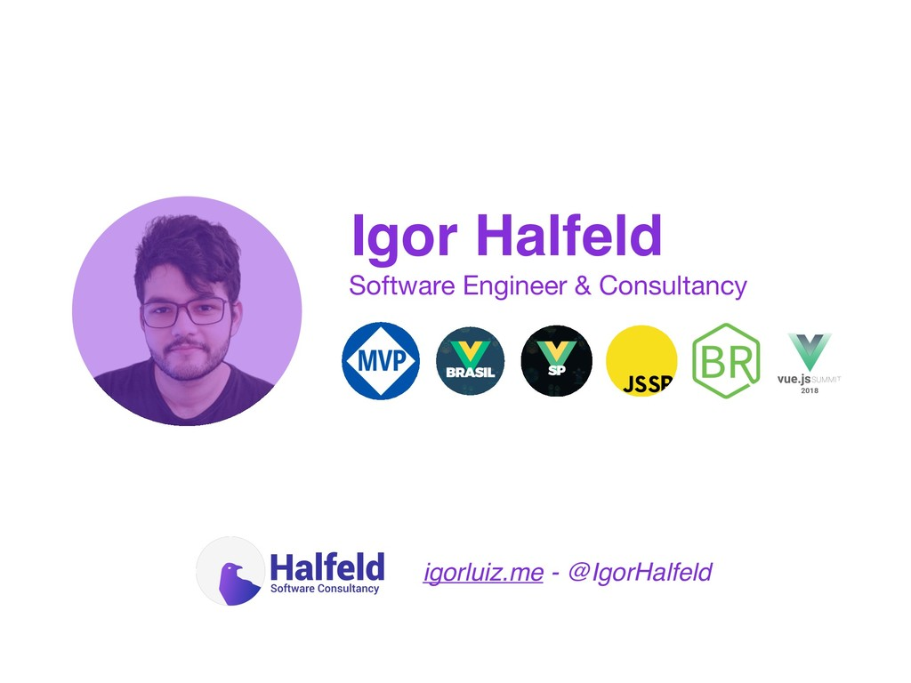 Igor Halfeld Software Engineer & Consultancy ig...