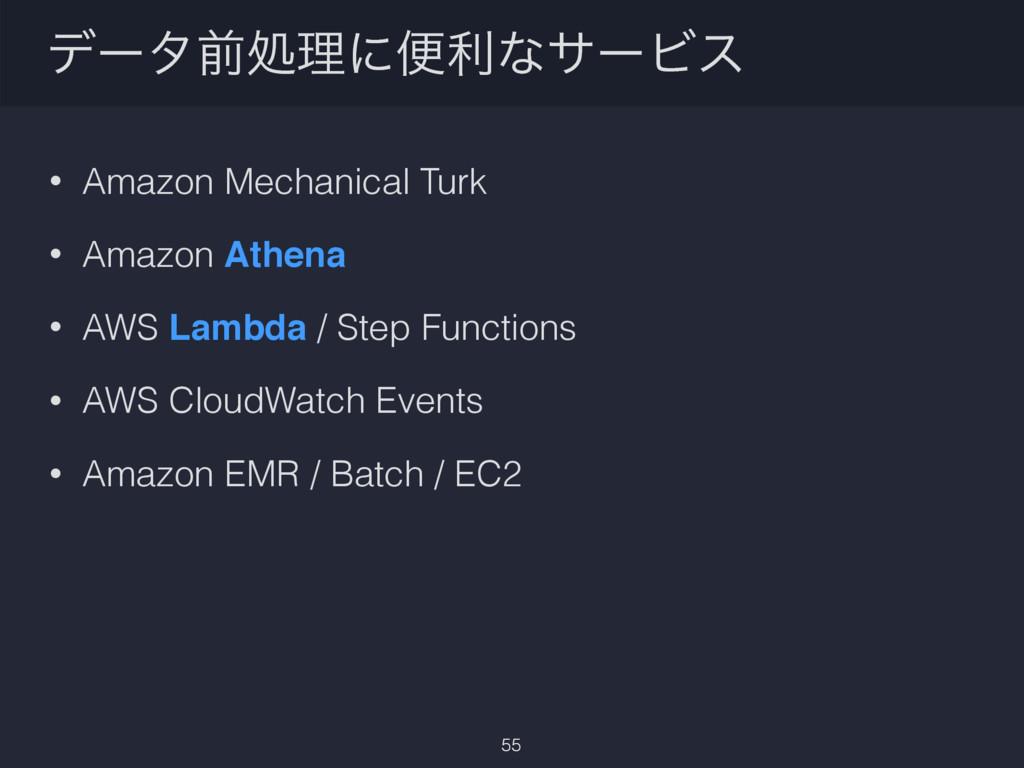 σʔλલॲཧʹศརͳαʔϏε • Amazon Mechanical Turk • Amazo...