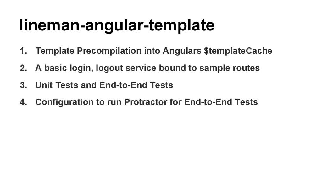 lineman-angular-template 1. Template Precompila...