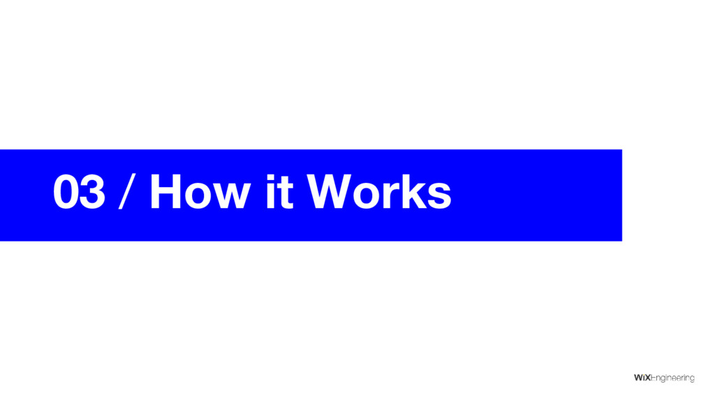 03 / How it Works