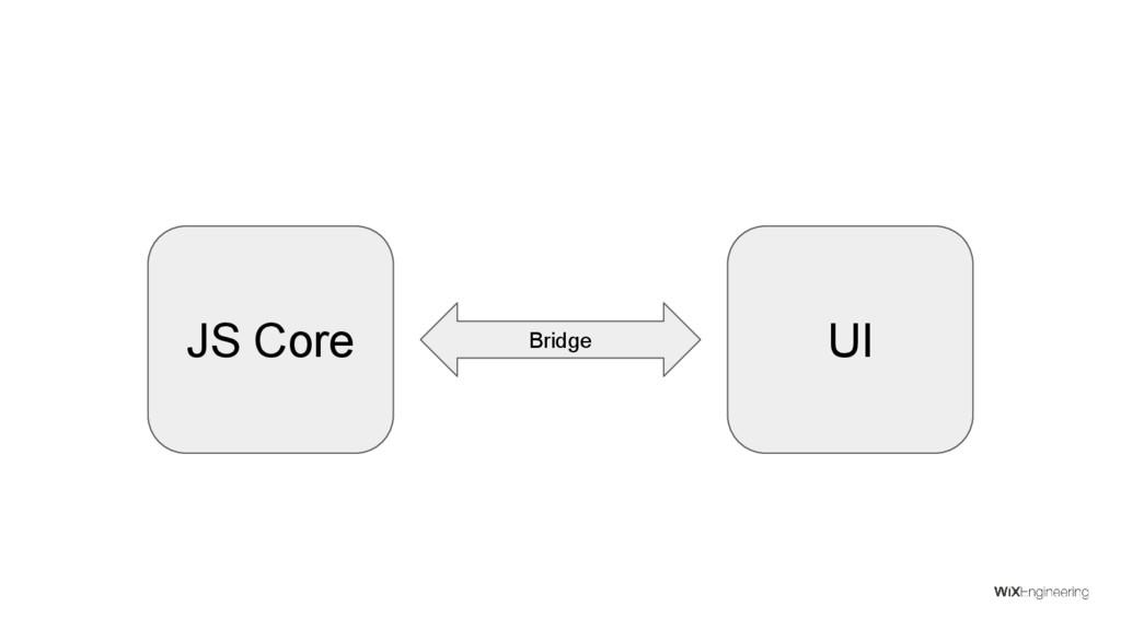 JS Core UI Bridge