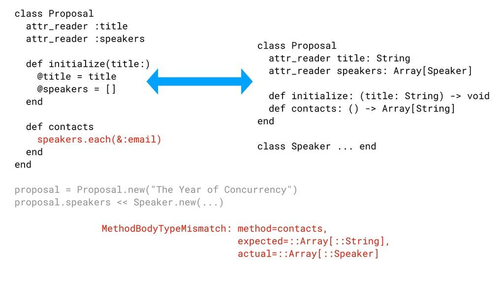 MethodBodyTypeMismatch: method=contacts, expect...