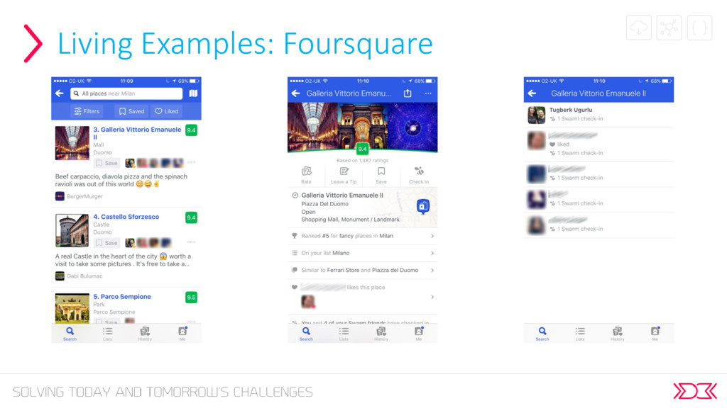 Living Examples: Foursquare