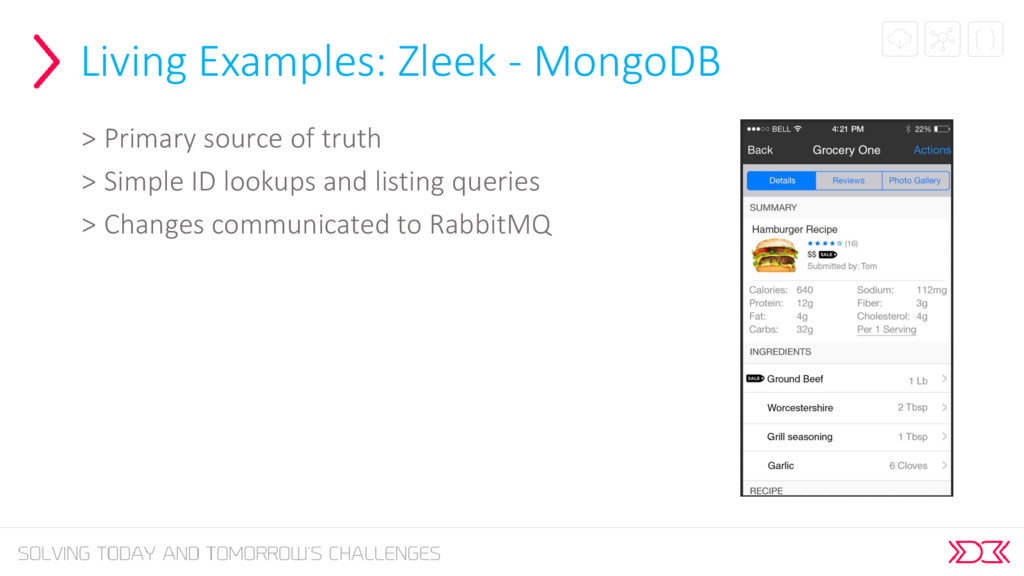 Living Examples: Zleek - MongoDB > Primary sour...