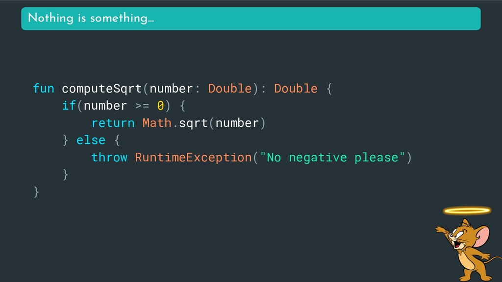 fun computeSqrt(number: Double): Double { if(nu...