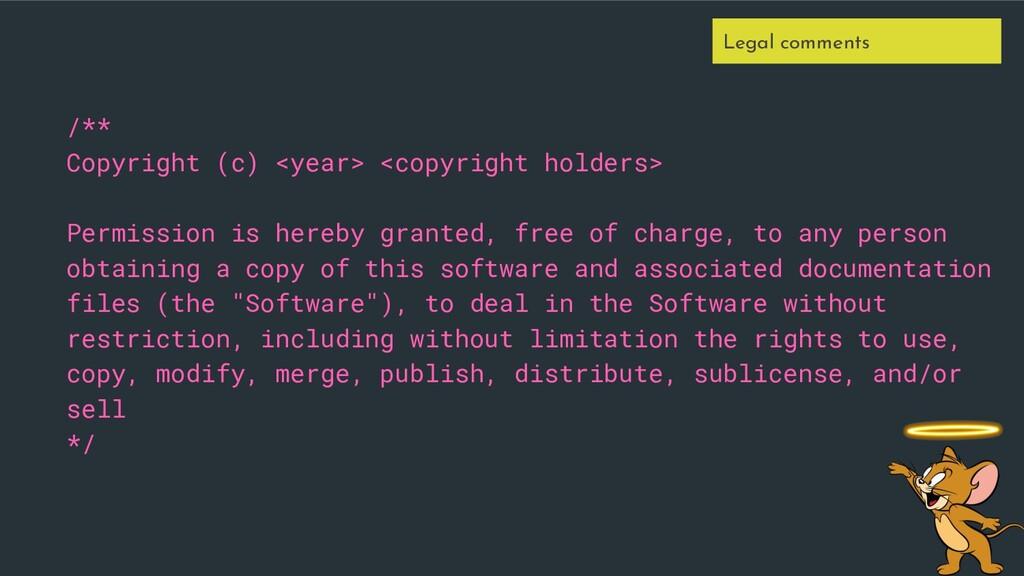 /** Copyright (c) <year> <copyright holders> Pe...