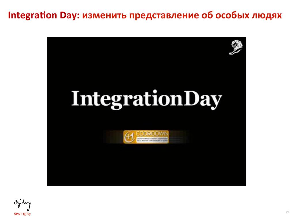 23 Integra•on Day: изменить представле...