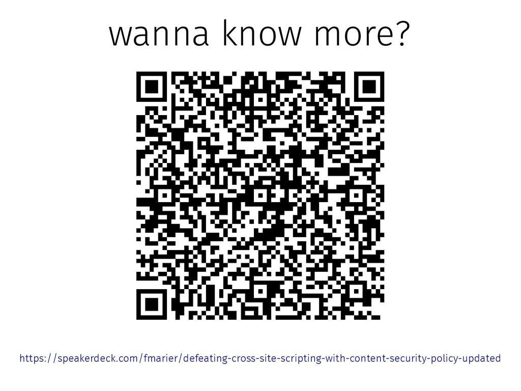 wanna know more? https://speakerdeck.com/fmarie...