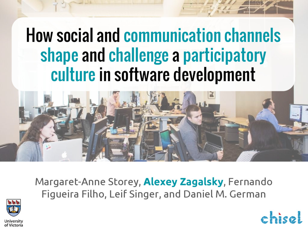 How social and communication channels shape and...