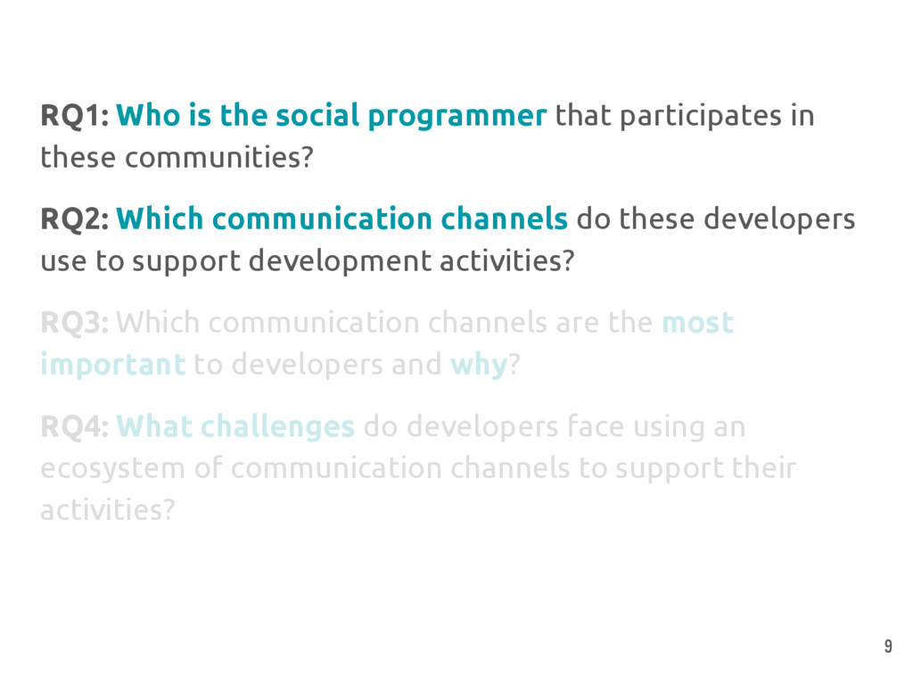 RQ1: Who is the social programmer that particip...