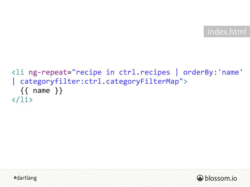 """#dartlang <li ng-‐repeat=""""recipe in ctrl.re..."""