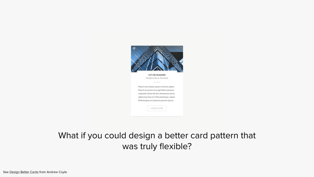 See Design Better Cards from Andrew Coyle What ...