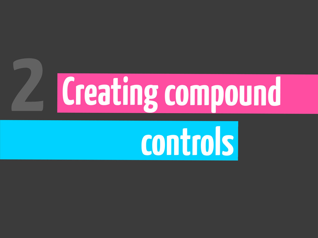 Creating compound controls 2
