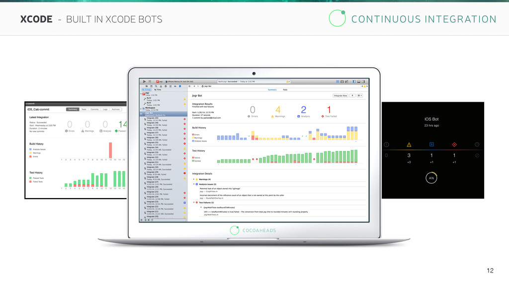 CONTINUOUS INTEGRATION 12 XCODE - BUILT IN XCOD...