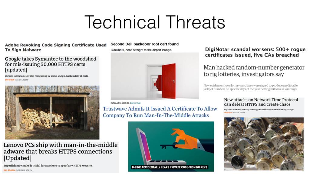 8 Technical Threats