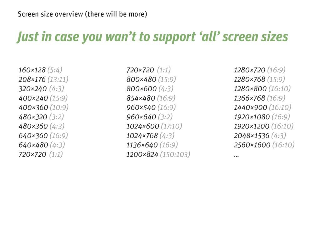 1280×720 (16:9) 1280×768 (15:9) 1280×800 (16:10...