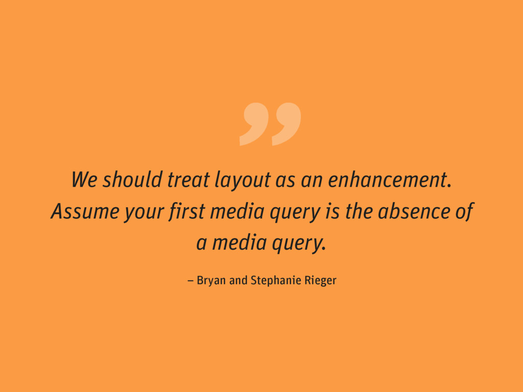 """ – Bryan and Stephanie Rieger We should treat ..."